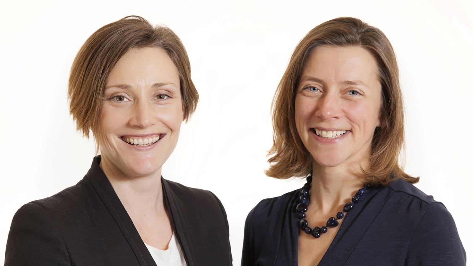 Directors - Delia and Nicolle