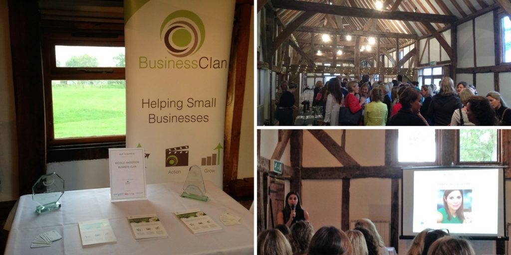 The Back to Business event