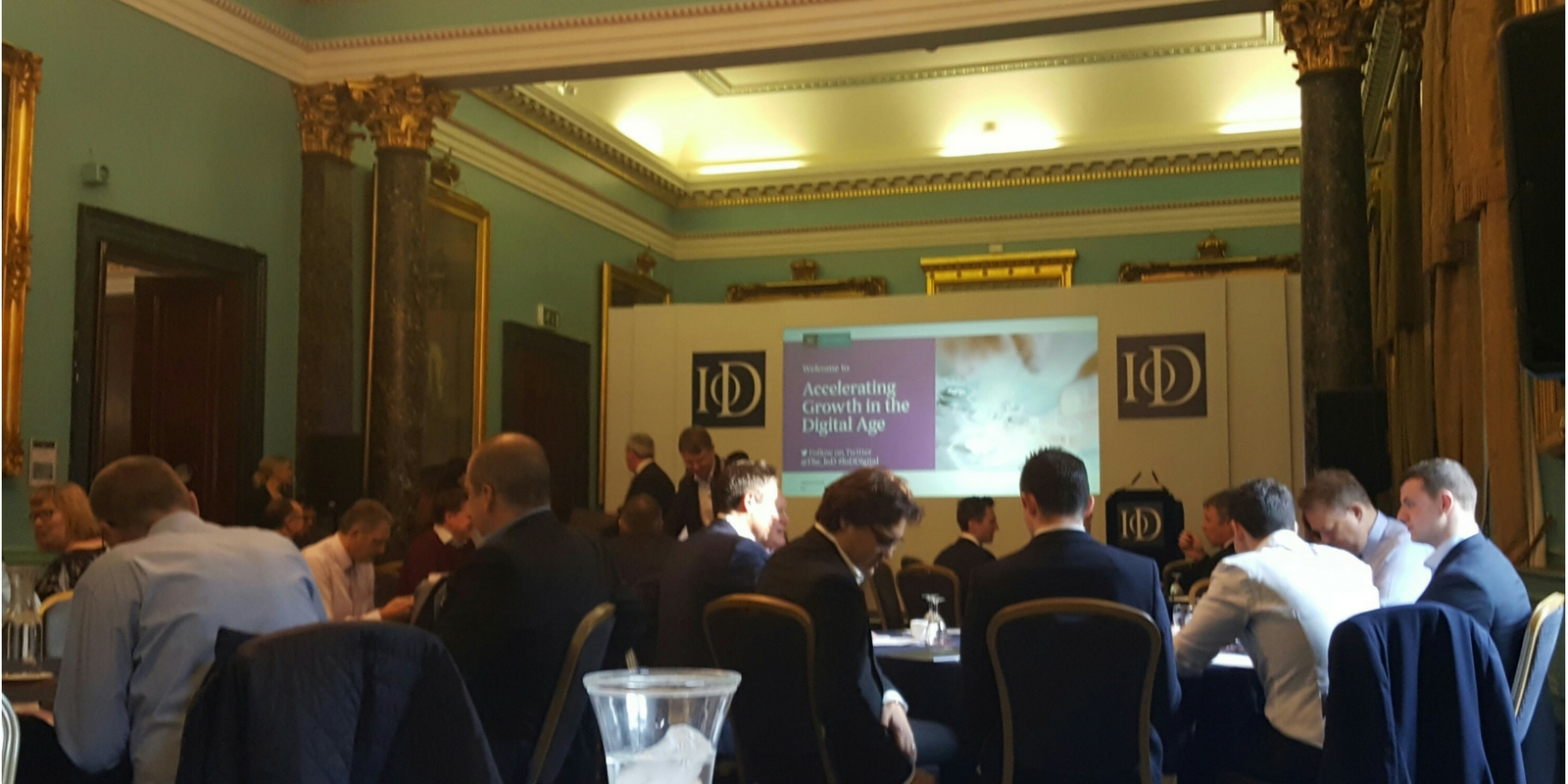 Presentation at the Institute of Directors