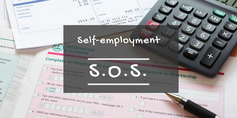 Self-employment SOS blog